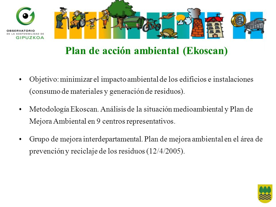Plan de acción ambiental (Ekoscan)