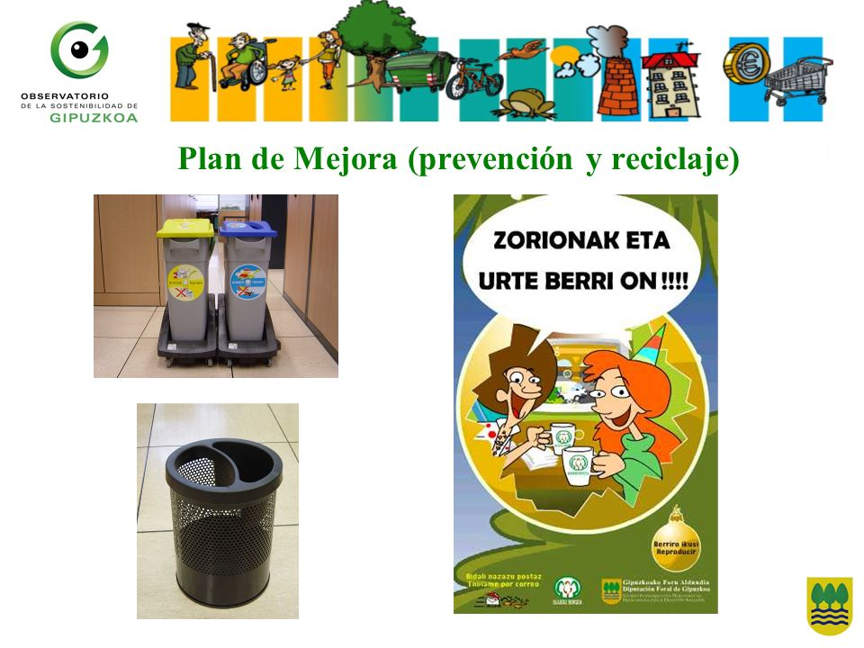 Plan de Mejora (prevención y reciclaje)