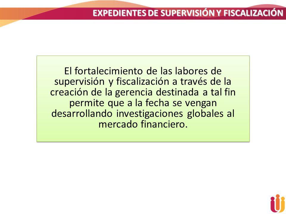 EXPEDIENTES DE SUPERVISIÓN Y FISCALIZACIÓN