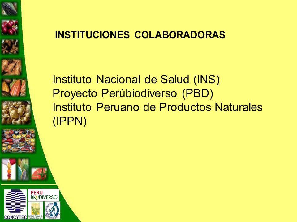 Instituto Nacional de Salud (INS) Proyecto Perúbiodiverso (PBD)