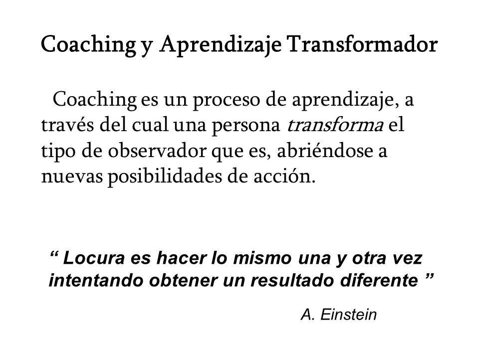 Coaching y Aprendizaje Transformador