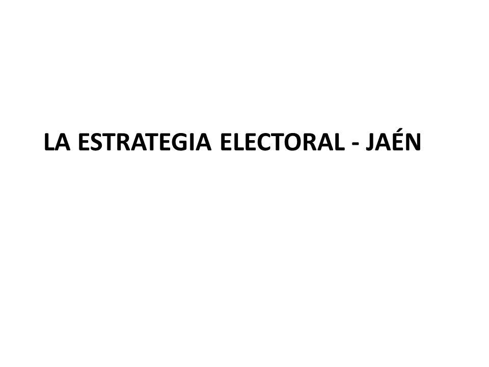 La Estrategia electoral - Jaén