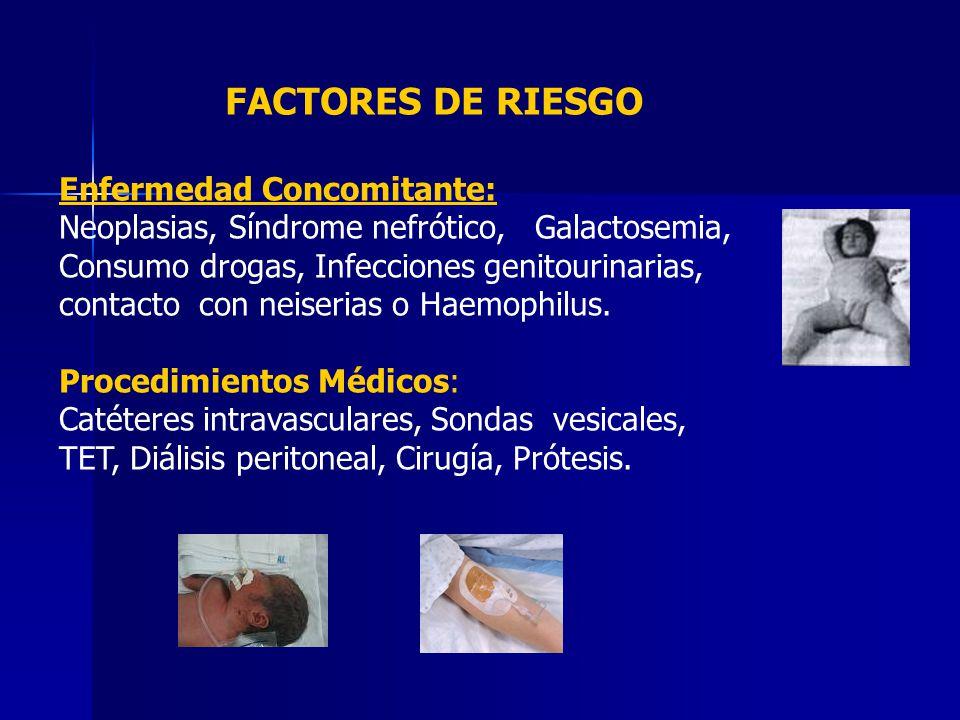 FACTORES DE RIESGO Enfermedad Concomitante: