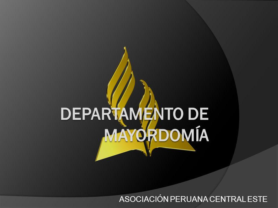 DEPARTAMENTO DE MAYORDOMÍA
