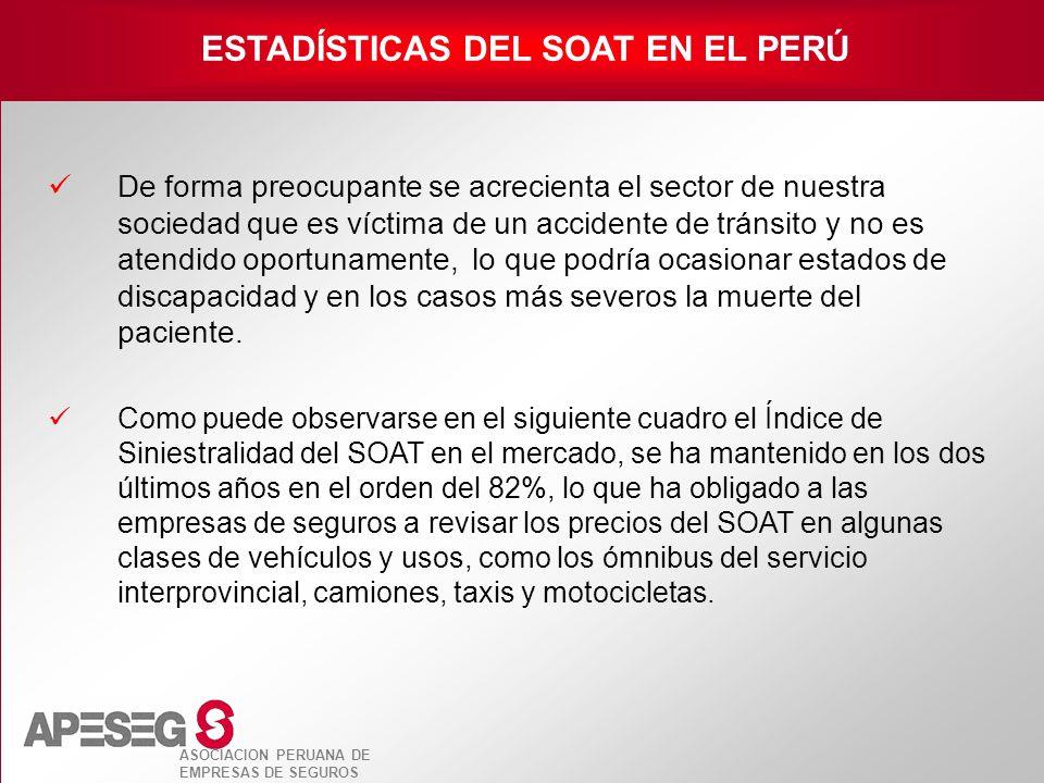 ESTADÍSTICAS DEL SOAT EN EL PERÚ