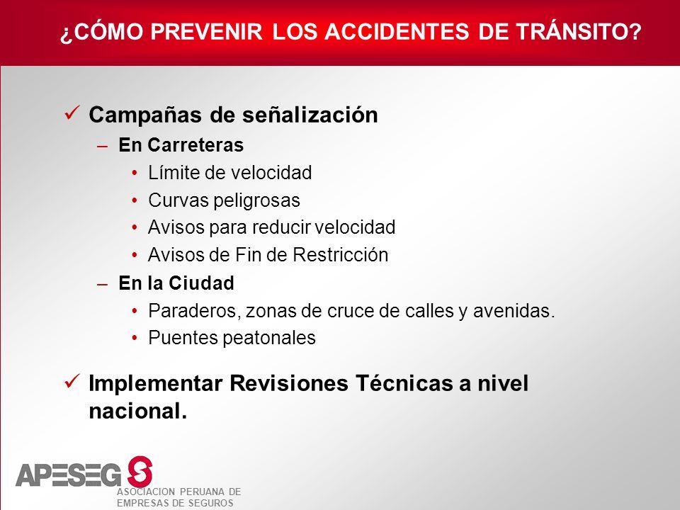 ¿CÓMO PREVENIR LOS ACCIDENTES DE TRÁNSITO