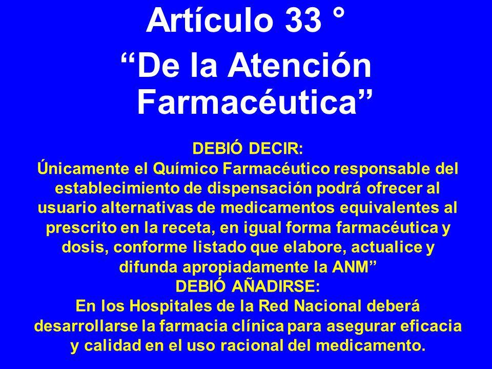 De la Atención Farmacéutica