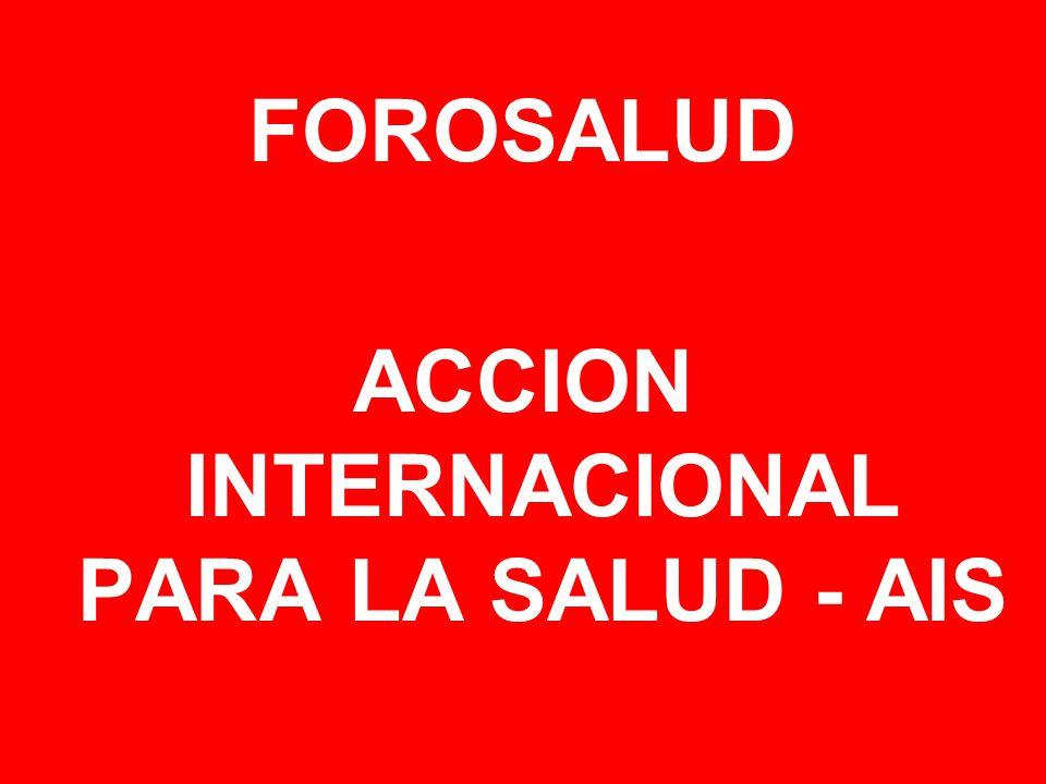 ACCION INTERNACIONAL PARA LA SALUD - AIS