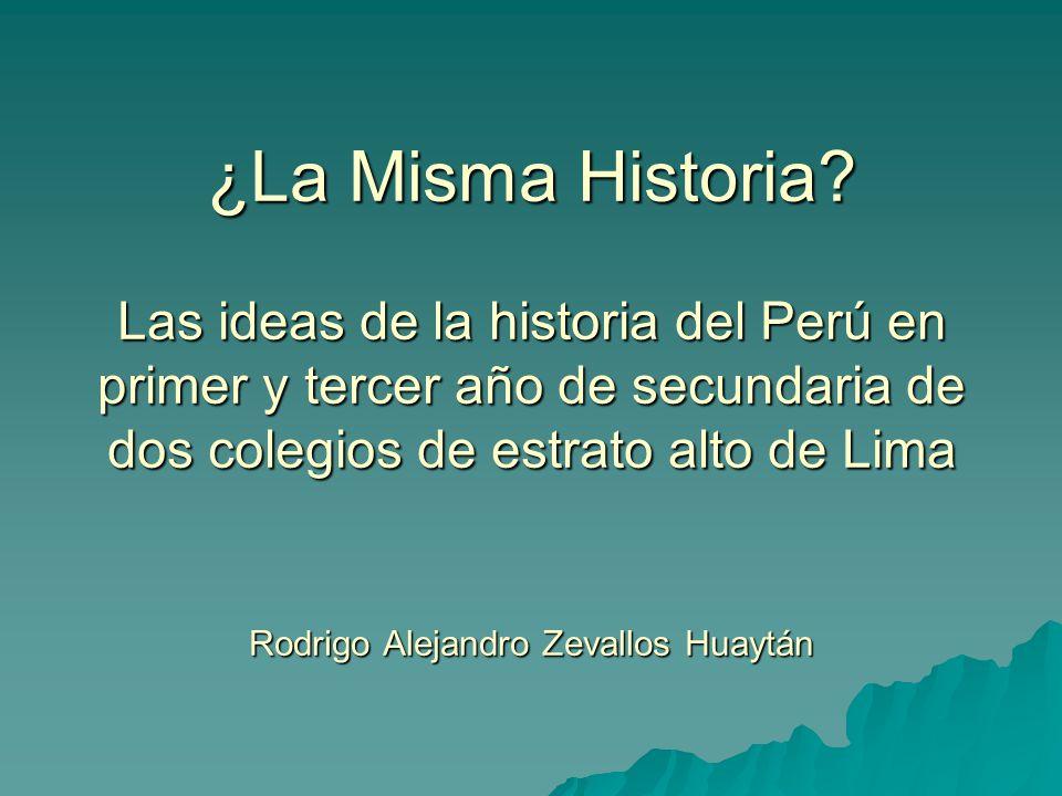 ¿La Misma Historia.