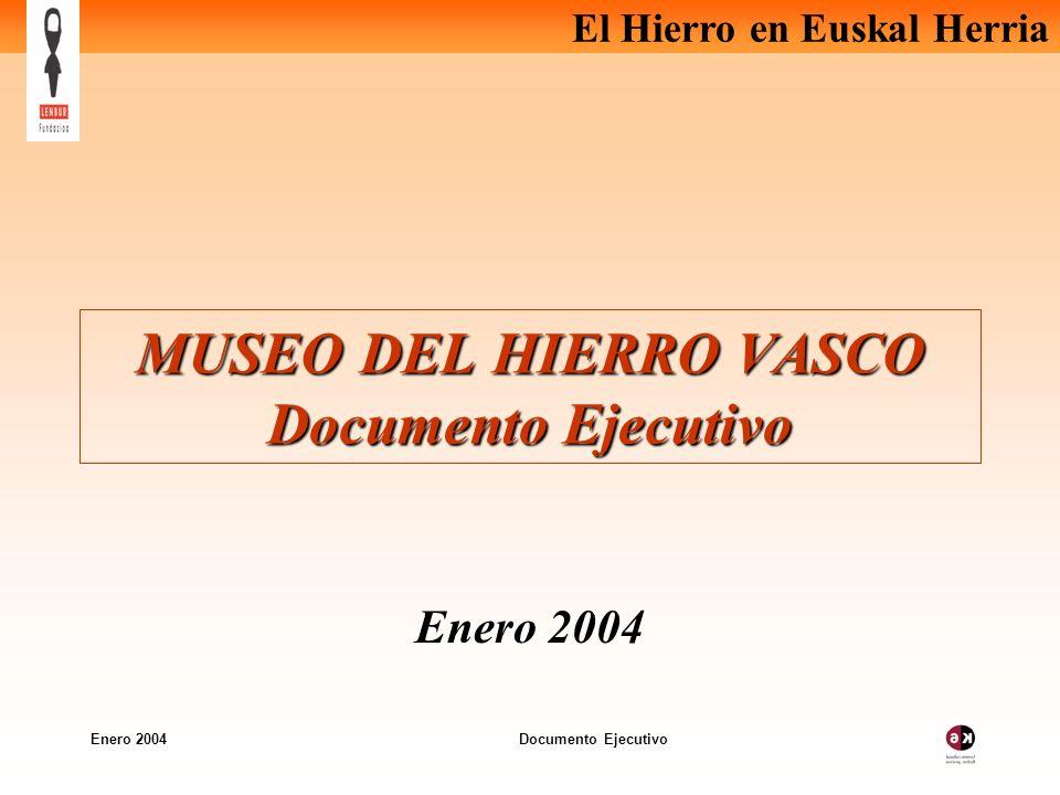 MUSEO DEL HIERRO VASCO Documento Ejecutivo
