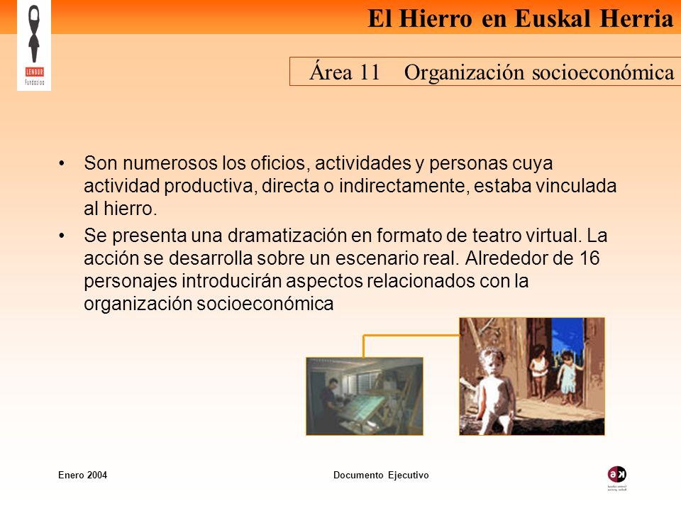 Área 11 Organización socioeconómica