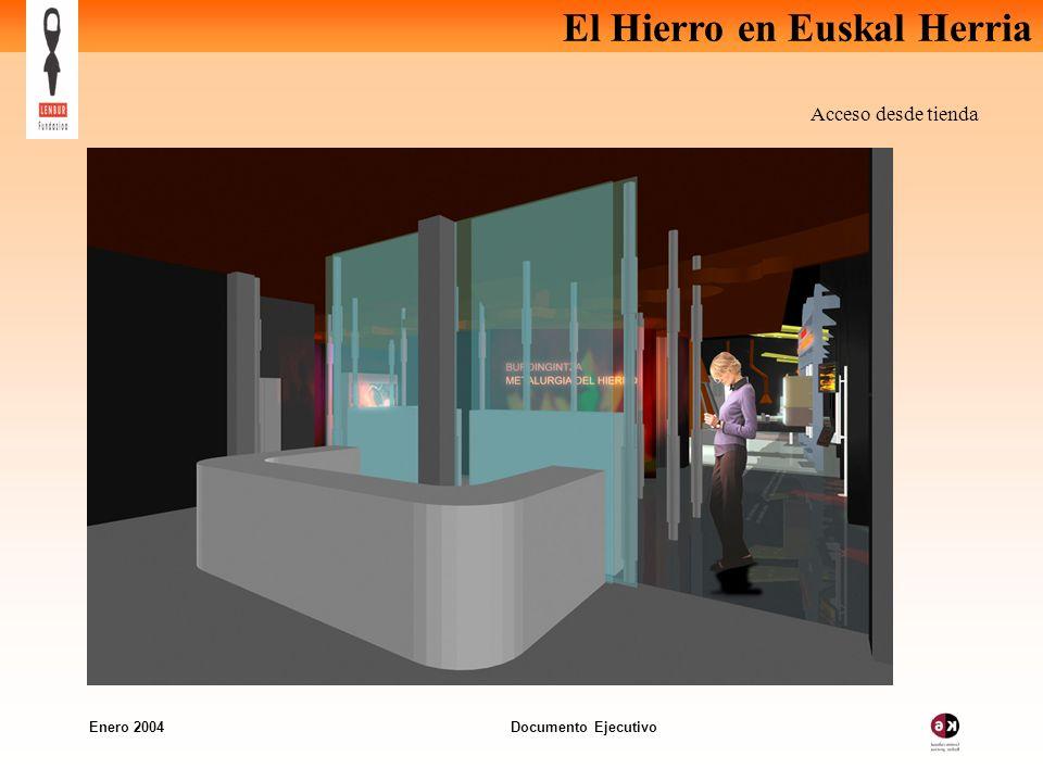 Acceso desde tienda Enero 2004 Documento Ejecutivo