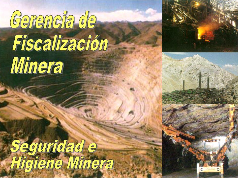 Gerencia de Fiscalización Minera Seguridad e Higiene Minera