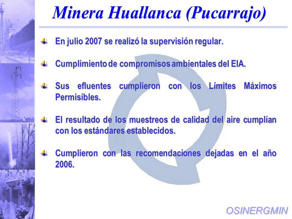 Minera Huallanca (Pucarrajo)