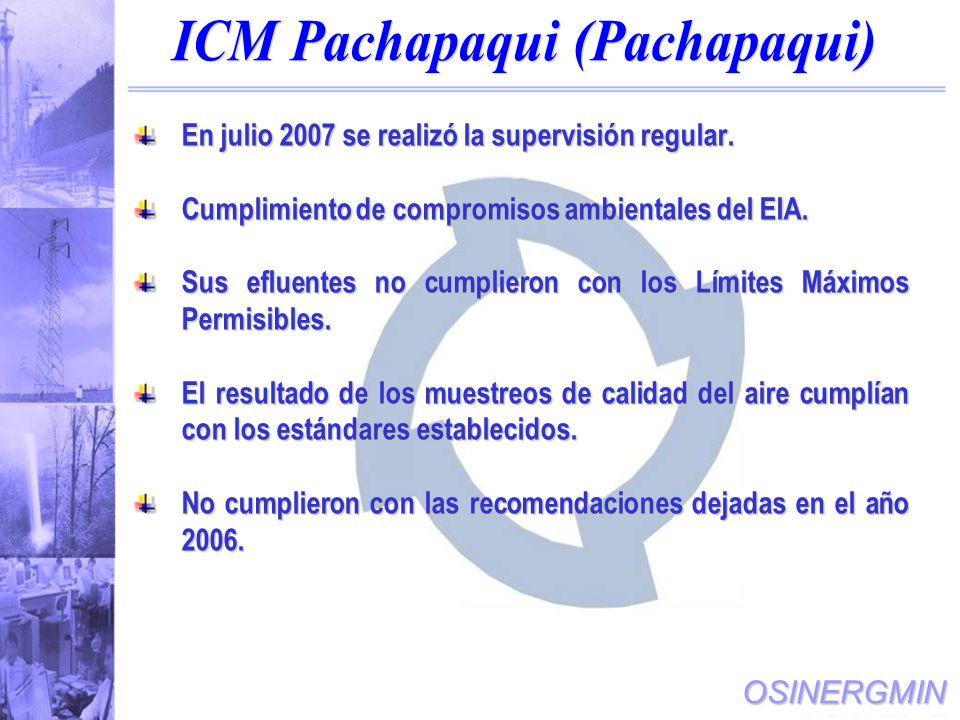 ICM Pachapaqui (Pachapaqui)