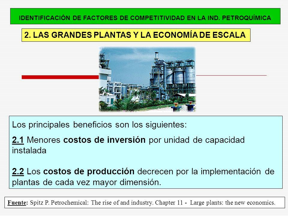 IDENTIFICACIÓN DE FACTORES DE COMPETITIVIDAD EN LA IND. PETROQUÍMICA
