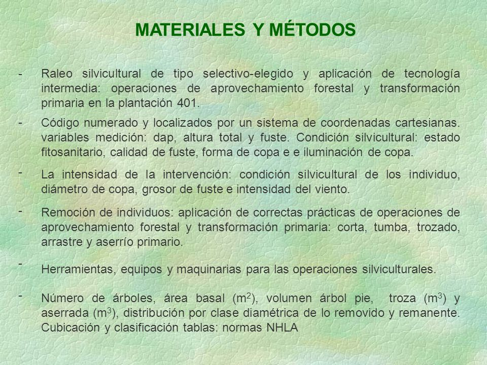 MATERIALES Y MÉTODOS -