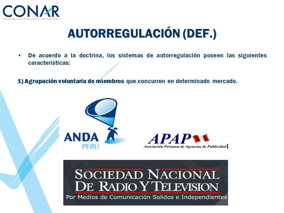 AUTORREGULACIÓN (DEF.)