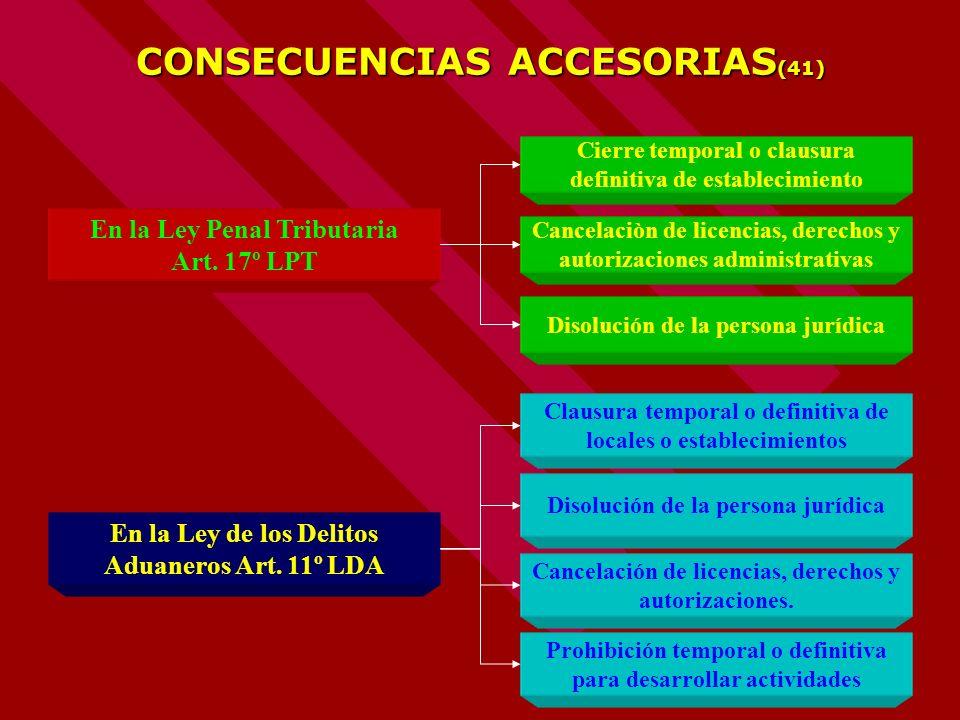 CONSECUENCIAS ACCESORIAS(41)