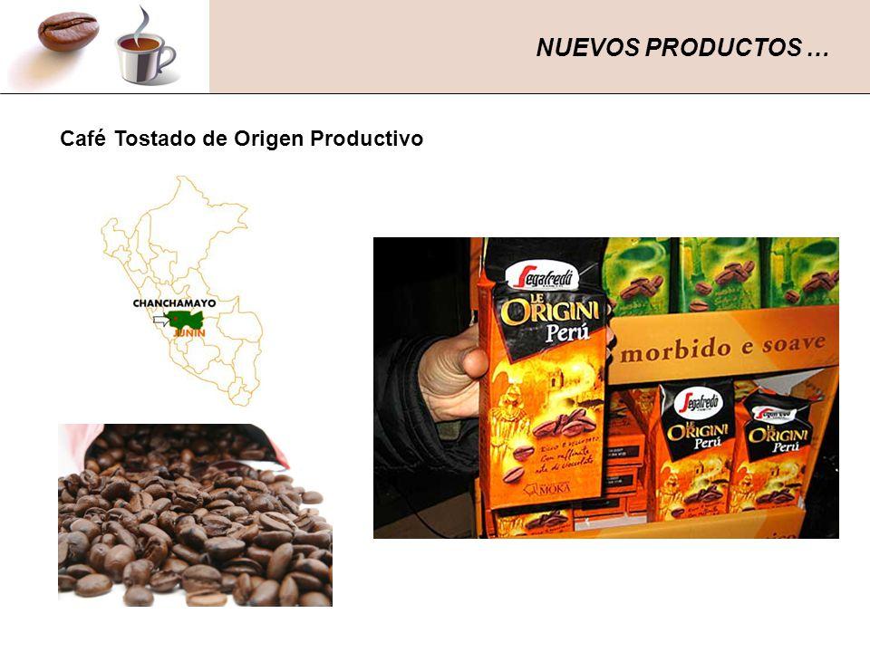 NUEVOS PRODUCTOS … Café Tostado de Origen Productivo