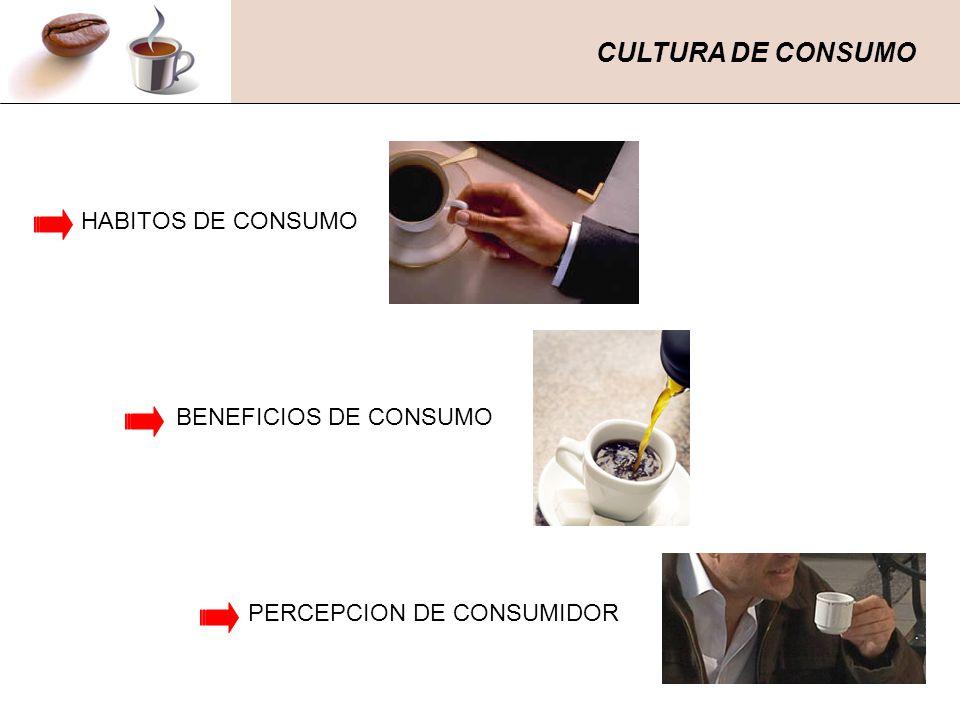 CULTURA DE CONSUMO HABITOS DE CONSUMO BENEFICIOS DE CONSUMO