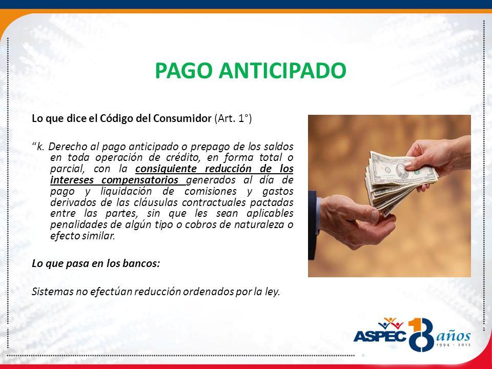 PAGO ANTICIPADO