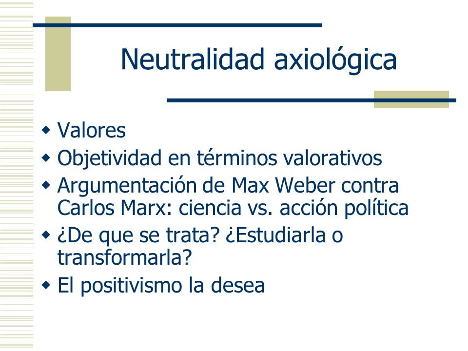 Neutralidad axiológica