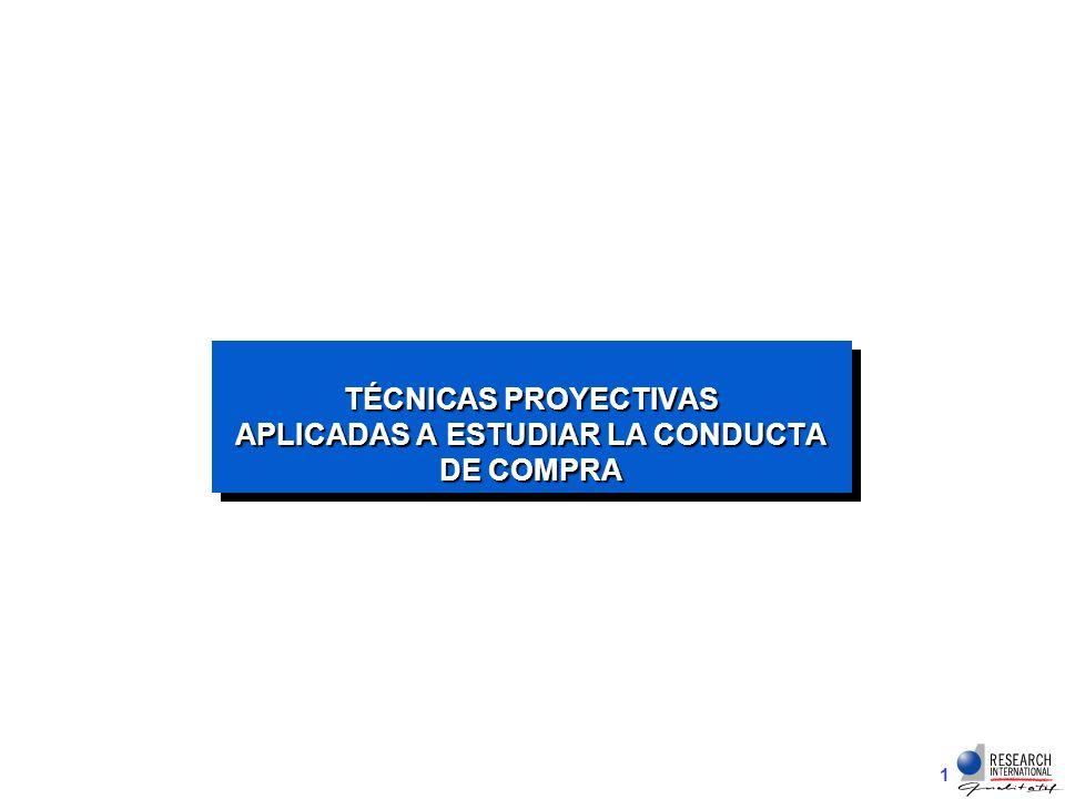 TÉCNICAS PROYECTIVAS APLICADAS A ESTUDIAR LA CONDUCTA DE COMPRA