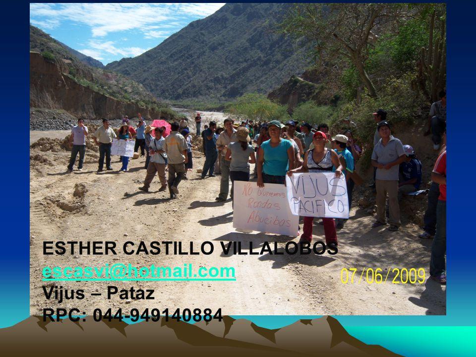ESTHER CASTILLO VILLALOBOS
