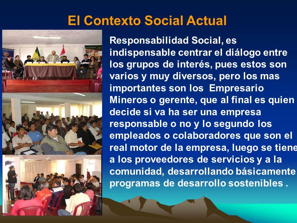 El Contexto Social Actual