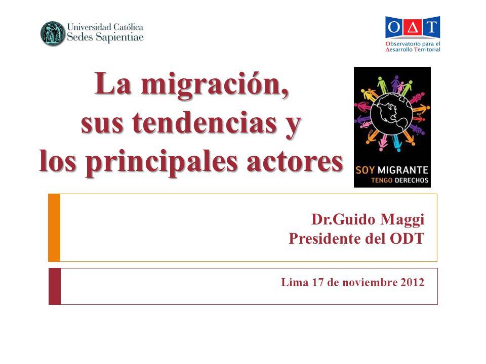 Dr.Guido Maggi Presidente del ODT