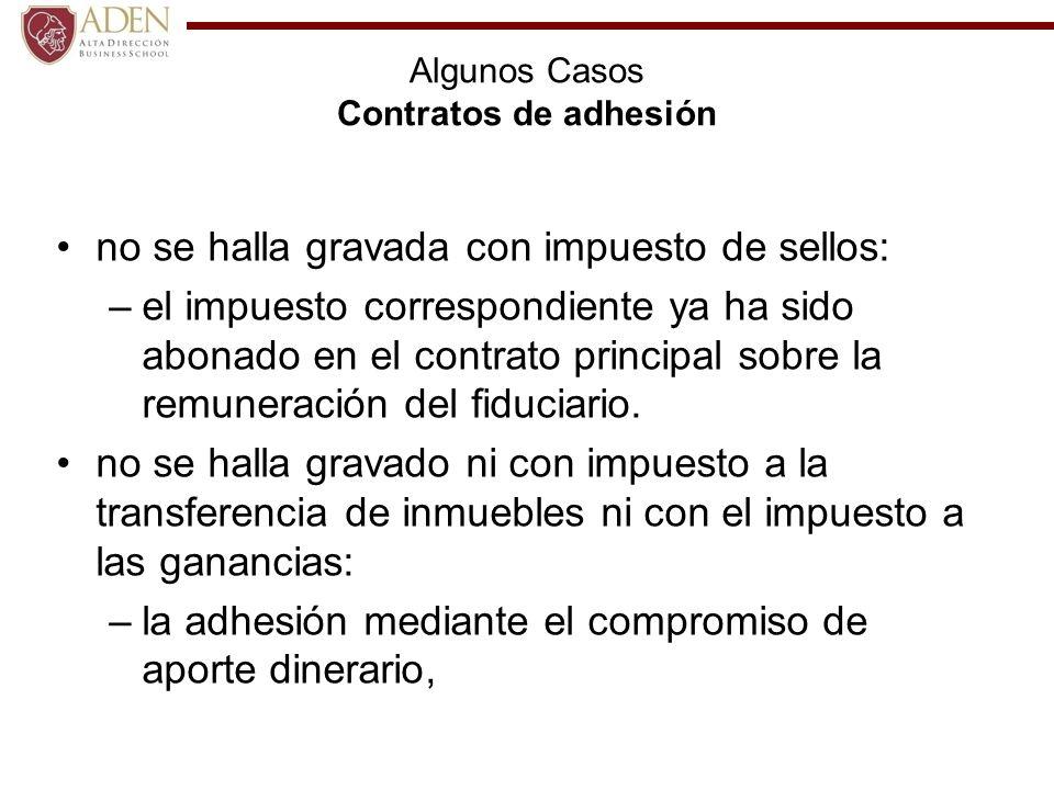 Algunos Casos Contratos de adhesión