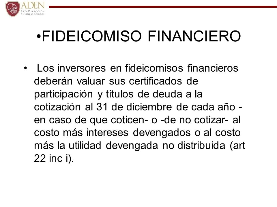 FIDEICOMISO FINANCIERO