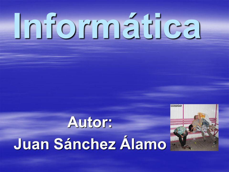 Autor: Juan Sánchez Álamo