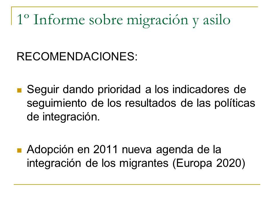 1º Informe sobre migración y asilo