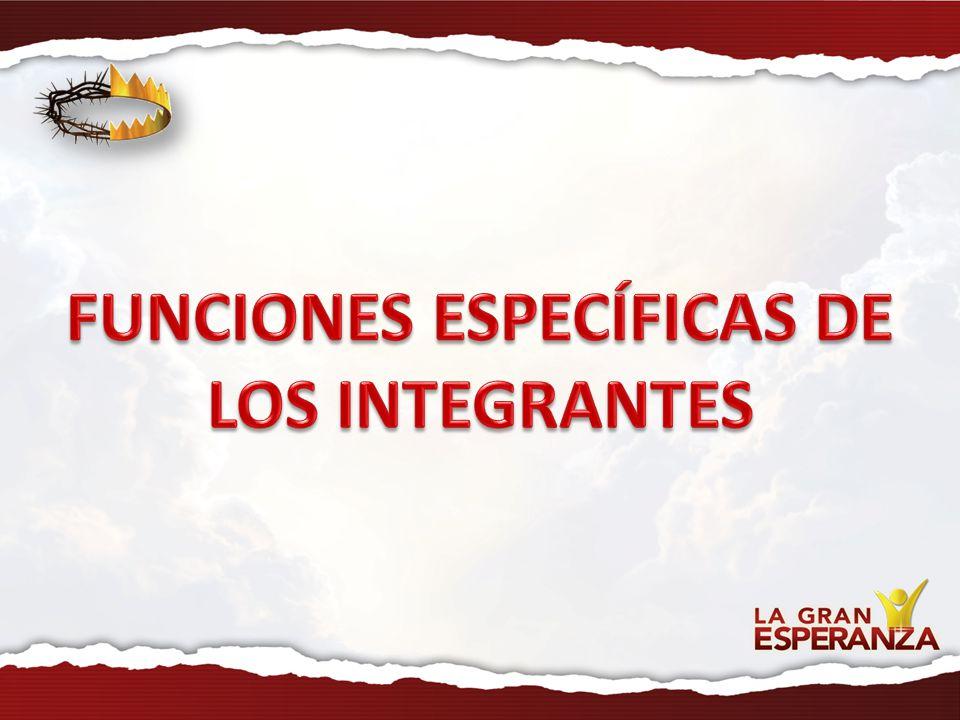 Funciones de la Comisión FUNCIONES ESPECÍFICAS DE