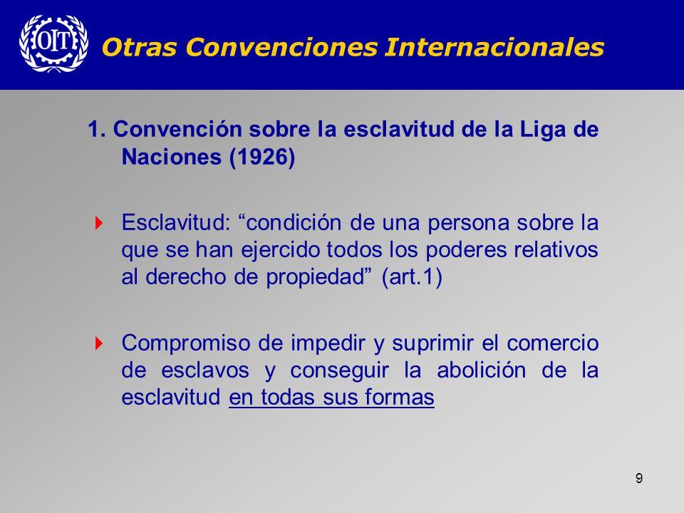 Otras Convenciones Internacionales