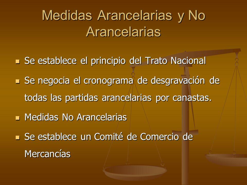 Medidas Arancelarias y No Arancelarias