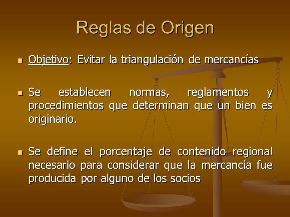 Reglas de Origen Objetivo: Evitar la triangulación de mercancías