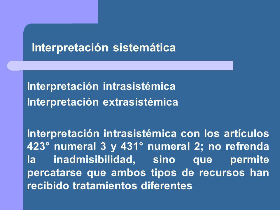 Interpretación sistemática