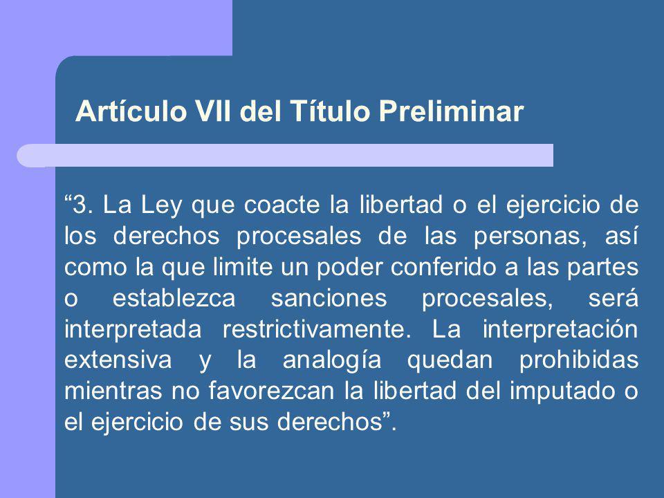 Artículo VII del Título Preliminar