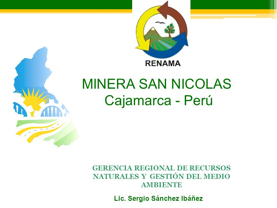 MINERA SAN NICOLAS Cajamarca - Perú