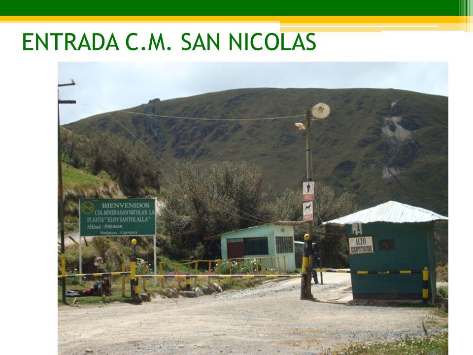 ENTRADA C.M. SAN NICOLAS