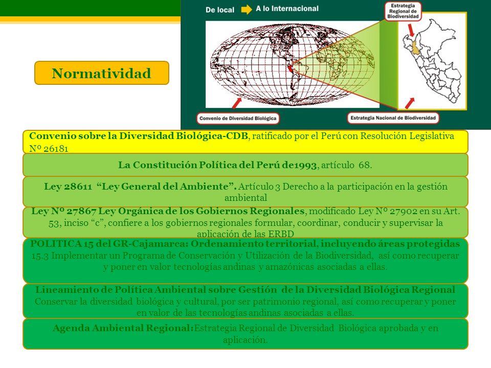 La Constitución Política del Perú de1993, artículo 68.