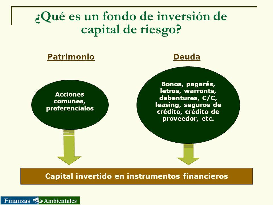 ¿Qué es un fondo de inversión de capital de riesgo