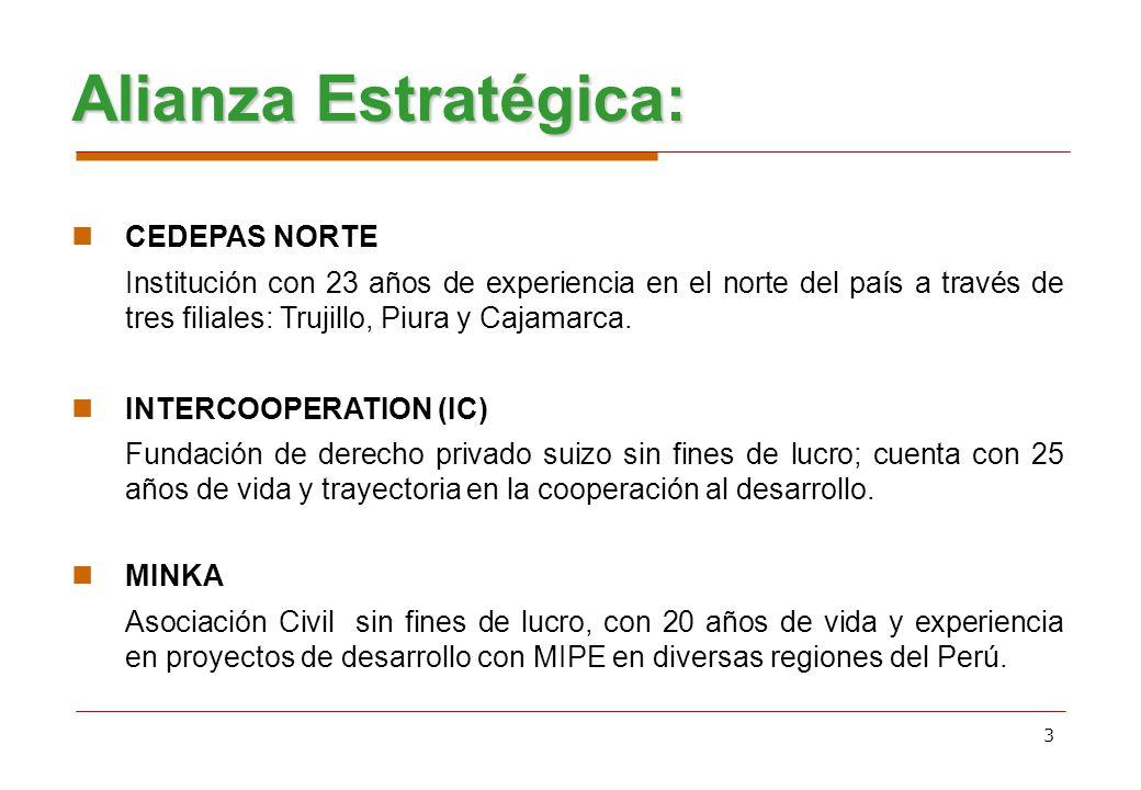 Alianza Estratégica: CEDEPAS NORTE