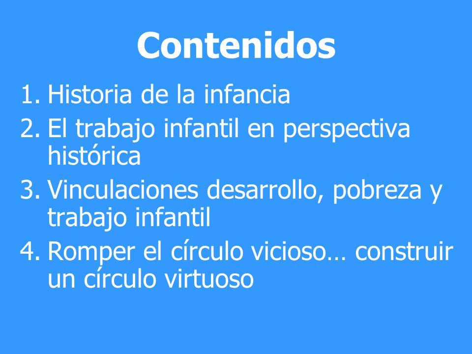 Contenidos Historia de la infancia