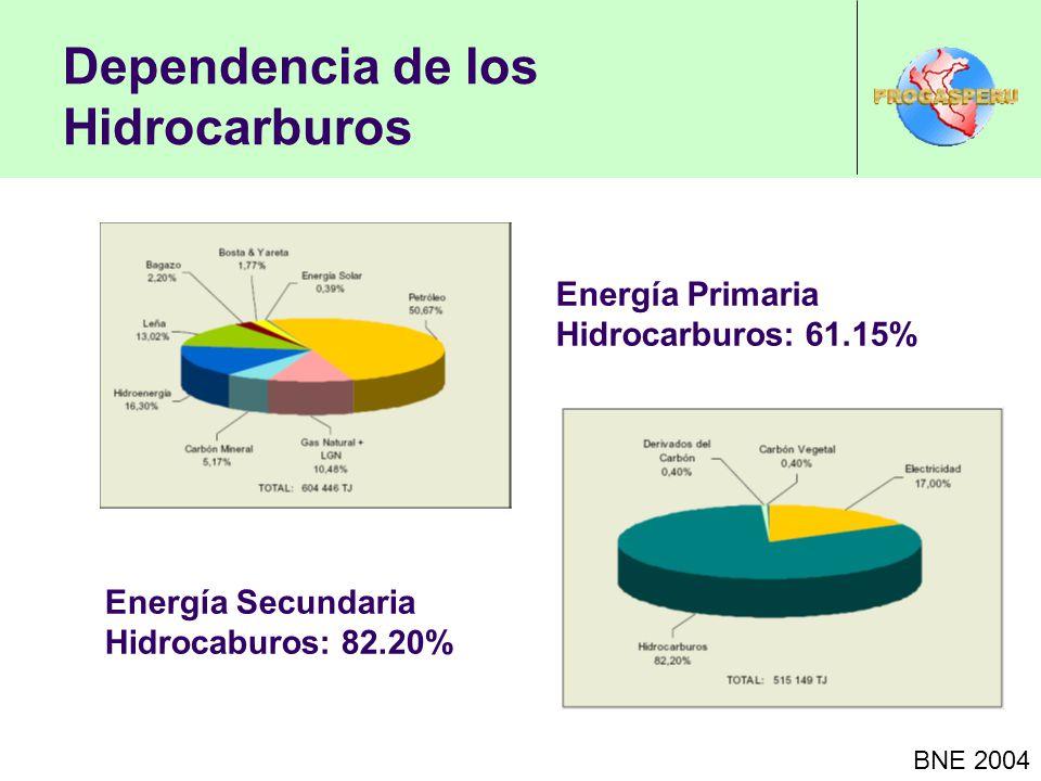 Dependencia de los Hidrocarburos