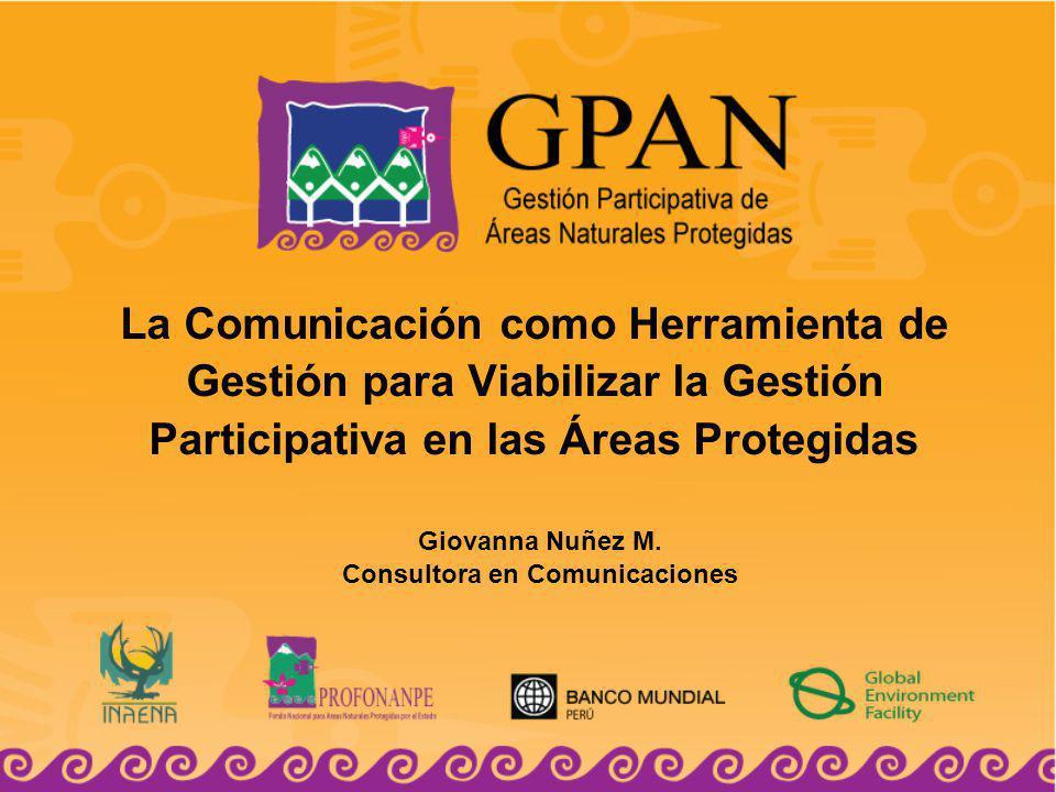 Giovanna Nuñez M. Consultora en Comunicaciones