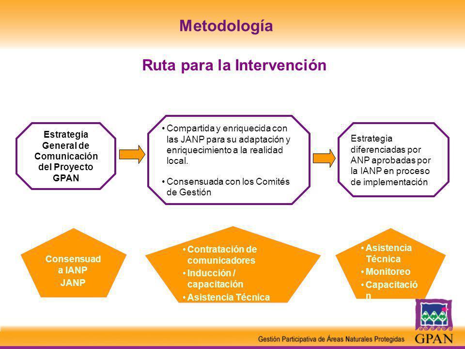 Ruta para la Intervención